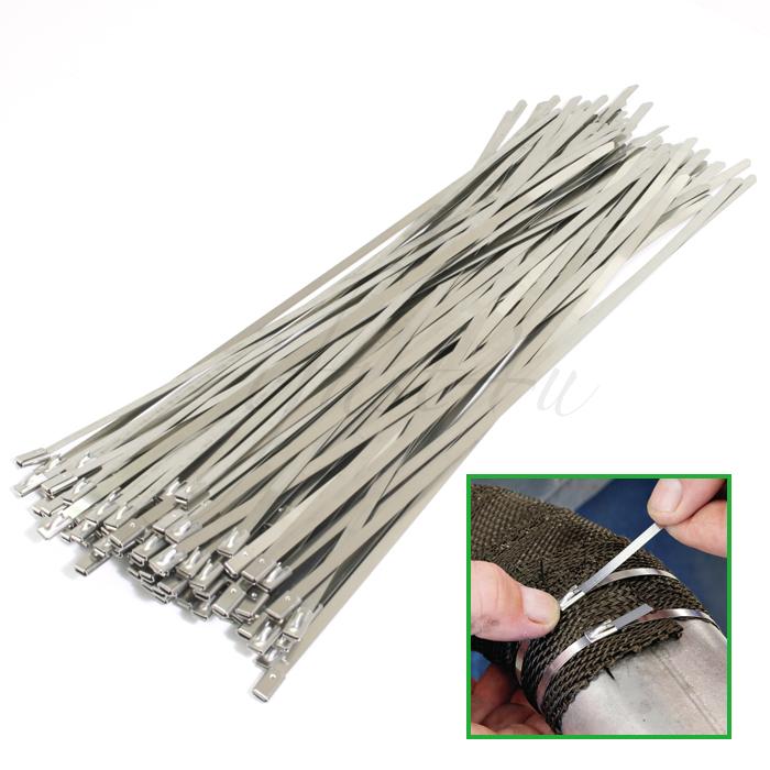 Top quality stainless steel metal cable ties tie zip