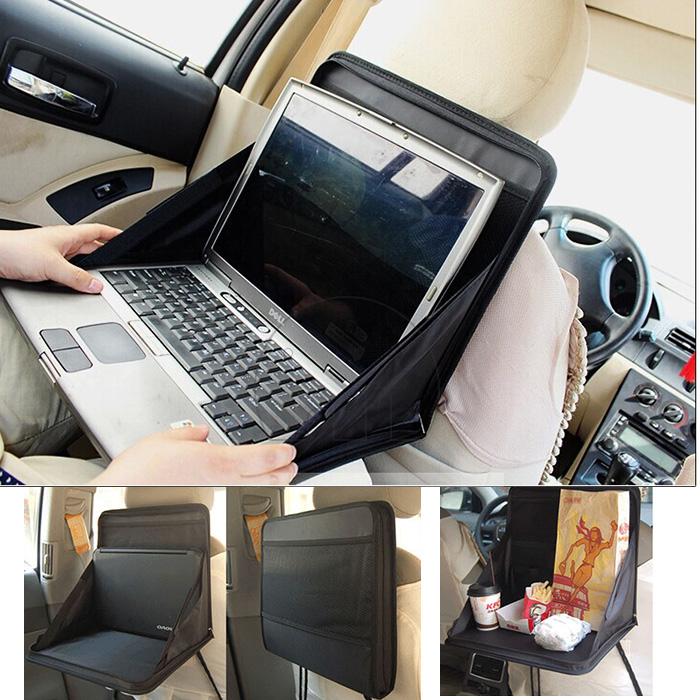 Car Laptop Ipad Holder Tray Mounts Back Seat Auto Food